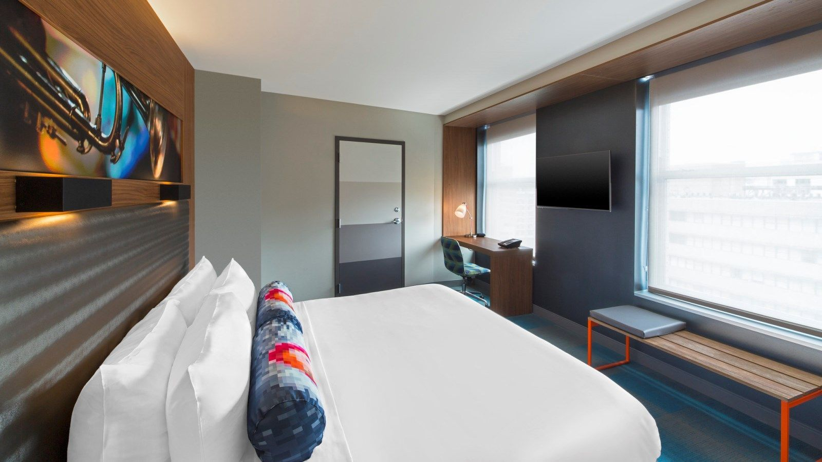 Houston Accommodations - Aloft King Room